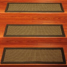 <strong>Natural Area Rugs</strong> Amazon Contemporary Sisal Stair Tread (Set of 13)