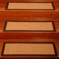 Avenues Contemporary Sisal Stair Tread (Set of 13)