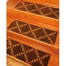 <strong>Natural Area Rugs</strong> Duke Stair Tread (Set of 13)