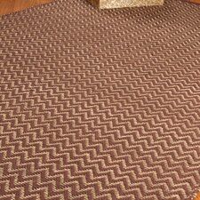 Jute Cream / Brown Ruby Rug