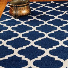 Jute Radiance Blue Area Rug