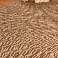 Jute Cream / Brown Realm Rug