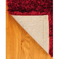 Shag Red Carnation Rug