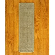 <strong>Natural Area Rugs</strong> Eternity Beige Carpet Stair Tread (Set of 13)