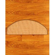 <strong>Natural Area Rugs</strong> Ideal Beige Euro Carpet Stair Tread (Set of 13)