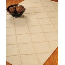 Century City Cream Geometric Indoor Rug