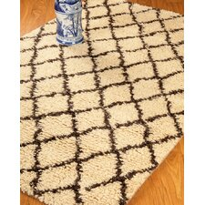 Cloud Cream Geometric Indoor Rug