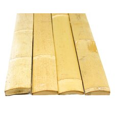 "72"" x 1-3/4"" Bamboo Slats in Natural - 25 Pack Bundled"