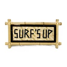 Bamboo - Surf's Up Garden Sign