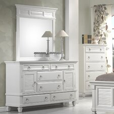 <strong>Alpine Furniture</strong> Winchester 6 Drawer Dresser