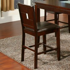 <strong>Alpine Furniture</strong> Lakeport Bar Stool with Cushion