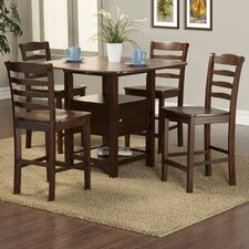 Bethany 5 Piece Counter Height Dining Set