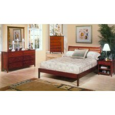 <strong>Alpine Furniture</strong> Portola Slat BedroomCollection