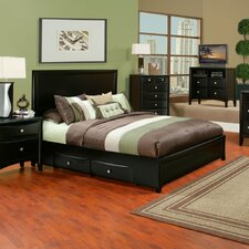 <strong>Alpine Furniture</strong> Laguna Storage Panel Bed