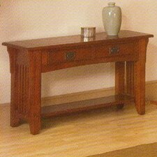 <strong>Alpine Furniture</strong> Mission Style Console Table