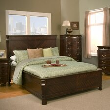 <strong>Alpine Furniture</strong> Windsor Panel Bed