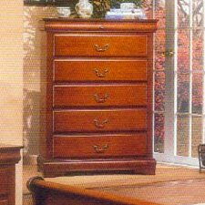 Louis Philippe 6 Drawer Chest