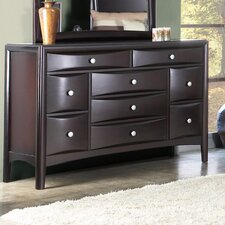 <strong>Alpine Furniture</strong> Laguna 9 Drawer Dresser
