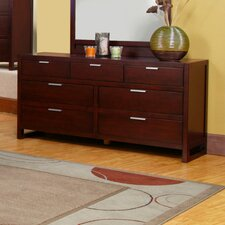 <strong>Alpine Furniture</strong> Camarillo 7 Drawer Dresser