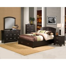 <strong>Alpine Furniture</strong> Del Mar Platform Bedroom Collection