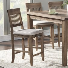 "Aspen 25"" Bar Stool with Cushion (Set of 2)"