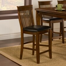 "<strong>Alpine Furniture</strong> Oakdale 25"" Bar Stool with Cushion"