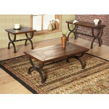 <strong>Alpine Furniture</strong> Milford Coffee Table Set