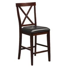 Jackson Pub Chair With Faux Leather Cushion