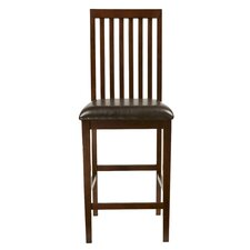 "<strong>Alpine Furniture</strong> Anderson 26"" Bar Stool with Cushion"