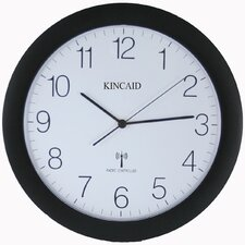 "<strong>Kincaid Clocks</strong> 12.25"" Radio Controlled Wall Clock"