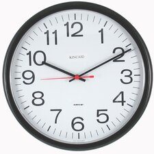 "<strong>Kincaid Clocks</strong> 13.5"" Always Set Wall Clock"