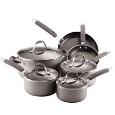 <strong>Farberware</strong> Enhanced 10-Piece Nonstick Cookware Set