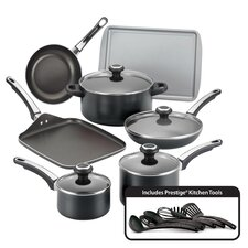 <strong>Farberware</strong> High Performance Nonstick 17-Piece Cookware Set