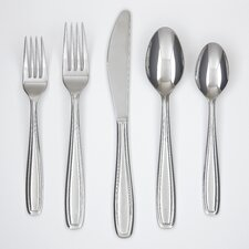 Vanilla 45-Piece Flatware Set