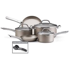 Premium Nonstick Aluminum 10-Piece Cookware Set