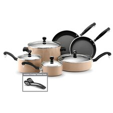 Porcelain Nonstick Aluminum 12-Piece Cookware Set