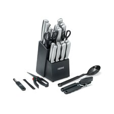 25 Piece Serrat Cutlery Block Set