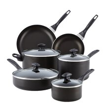 <strong>Farberware</strong> Dishwasher Safe Nonstick 14-Piece Cookware Set
