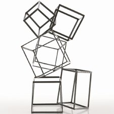 Mondrian Iron Sculpture