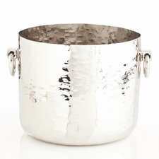 Grace Container in Polished Nickel