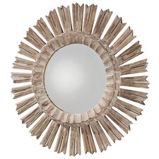 "<strong>ARTERIORS Home</strong> 20.5"" H x 20.5"" W Vendome Hand Carved Starburst Mirror"