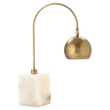 "Jana Adjustable 26"" H Table Lamp with Bowl Shade"