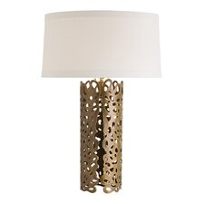 "Hedda 28.5"" H Table Lamp with Drum Shade"