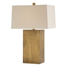 "Kimi 27"" H Table Lamp with Rectangle Shade"