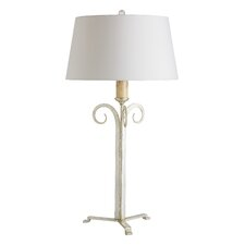 "Krista 33"" H Table Lamp with Empire Shade"