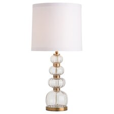 "Java 31"" H Table Lamp with Drum Shade"