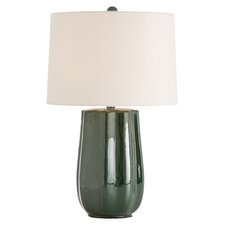 "Jemmison 25"" H Table Lamp with Drum Shade"