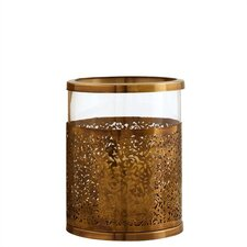 <strong>ARTERIORS Home</strong> Benton Antique Brass / Glass Hurricane