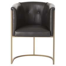 Calvin Top Leather Armchair