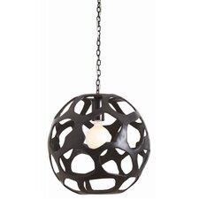 Ennis Iron Globe Pendant